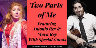 """Flamenco Directly from Spain! """"Two Parts of Me"""" featuring Antonio Rey &  Mara Rey with Special Guests - La Peña Cultural Center"""