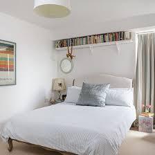 white furniture bedroom ideas interesting bedroom. White Double Bed Under Bookshelf Furniture Bedroom Ideas Interesting