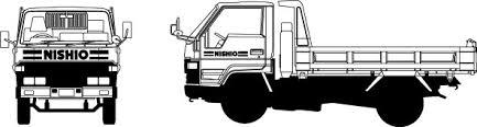 建設機械イラスト集荷役運搬機械 西尾レントオール株式会社