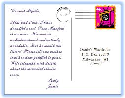 Postcard Formats How To Write An Australian Address On A Postcard