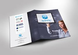 Serious, Elegant, Software Brochure Design For A Company By ...