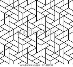 simple white background patterns. Wonderful Patterns Abstract Geometric Pattern Background With Hexagonal And Triangular Texture  Black White Seamless Grid Lines With Simple White Background Patterns