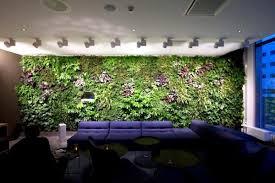 green wall lighting. Vertical Gardens Inside And Outside - A Bright Future For Green Wall Lighting