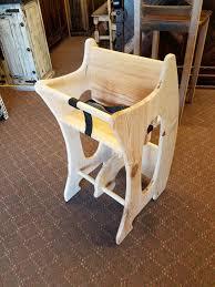 high chair desk rocking horse 3 in 1 amish design handmade children furniture solid