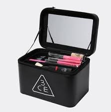 image is loading makeup box bag stylenanda 3ce black make up