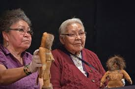 Ms. Dianne Smith and Mrs. Annie Smith discussing Annie's dolls from the...  | Download Scientific Diagram