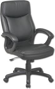 comfortable desk chairs. Beautiful Desk Office Star Furniture  HighBack Eco Leather Executive Chair Black In Comfortable Desk Chairs