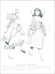 Fashion Coloring Pages Barbie Coloring Pages Fashion Dress Page