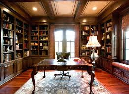 awesome office design. Awesome Office Design Home Library Photos With Classic