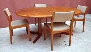 3 teak dining room chairs 650 vine d scan danish modern teak dining set table and
