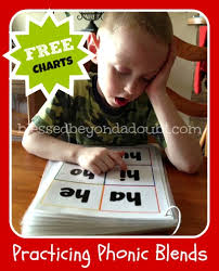 Blends Chart For Kindergarten Free Phonetic Blend Charts Mastering Phonic Sounds