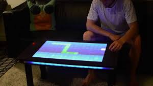 Interactive Coffee Table Interactive Led Table Multiplayer 160 Pixels Controlled By