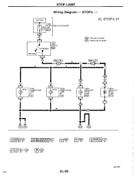 nissan datsun altima nissan altima gxe cyl eccs will i have the two wiring diagrams here you can look at and you can see the connectors for the two switches are listed as m25 and m26