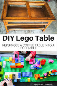next time you see a coffee table grab it and make this diy lego table