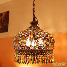 Bohemian lighting Ceiling Image Is Loading Bohemianstyleironcolorcrystalpendantlampchandelier Ebay Bohemian Style Iron Color Crystal Pendant Lamp Chandelier Ceiling