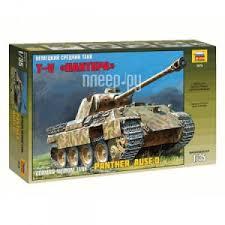 <b>Сборная модель Zvezda Немецкий</b> средний танк Пантера 3678