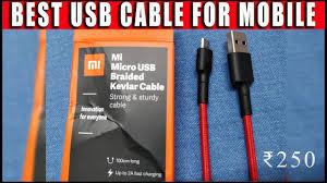 <b>Mi</b> Micro <b>USB Braided Cable</b> | UNBOXING | TESTING & REVIEW ...