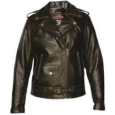 add to my lists allstate womens classic motorcycle retro dk brown leather biker jacket
