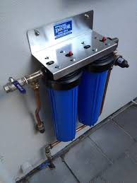 Whole House Filtration Systems Whole House Twin Cartridge Rainwater Filter System The Tank