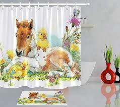 zhhld horse duck spring garden bathroom