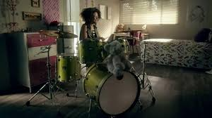 Shaw Flooring TV mercial Awesome Loud Drummer Girl iSpot