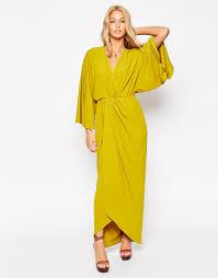 70 S Kaftan Wrap Maxi Dress Modcout