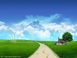 Download Farm House Wallpaper