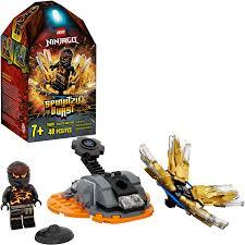 LEGO Ninjago 70685 Spinjitzu Burst Cole Spinner schwarz (48 Teile):  Amazon.de: Spielzeug