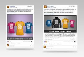 Give You Amazing Tshirt Ad Templates For Facebook Ads
