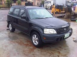 Neatly 1st Body Used Black 2001 Honda Crv,@ 750k - Autos - Nigeria