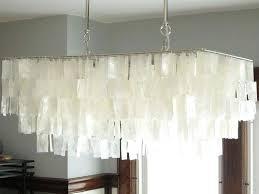 large capiz shell chandelier white best ideas on home improvement amusing