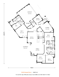 incredible design modern 4 bedroom single y house plans 6 the great family home gallery 2979