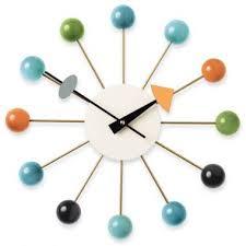 vitra multi coloured ball clock by