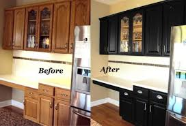 updating oak kitchen cabinets before