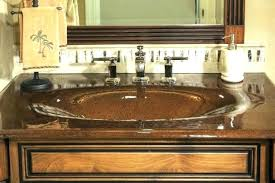 bathroom sink and countertop combo surprising one piece bathroom sink and one piece bathroom sink and