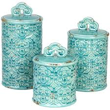 Teal Kitchen Canister Sets