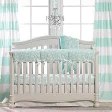 mint green nursery and mint crib