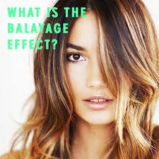 what is the balayage effect