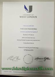 Sample Degree Certificates Of Universities University Of West London Degree Sample Buy Fake Degree Buy
