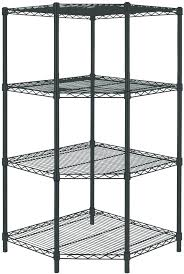 hdx plastic ventilated storage shelving unit storage shelf picture 1 of 6 4 shelf storage unit