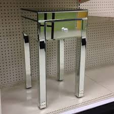 mirror accent table. creative of round accent table with drawer furniture elegant mirrored for home ideas mirror