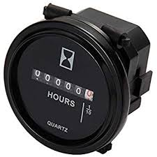 amazon com ac100 250v electromechanical hour meter counter automotive aimilar mechanical hour meter gauge professional engine hourmeter ac110 250v for boat auto atv utv snowmobile lawn tractors generators ac110 250v