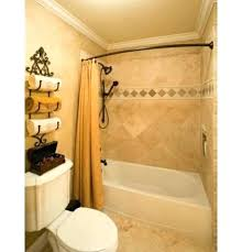 small shower rod stand alone curtain best stall ideas on contemporary up showers curved bathroom