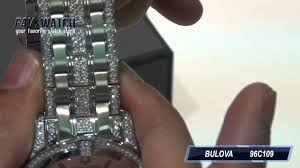bulova 96c109 crystal quartz men s watch bulova 96c109 crystal quartz men s watch