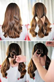 How To Make Cool Hairstyle go make me cute three bun hairstyle go make me 5856 by stevesalt.us