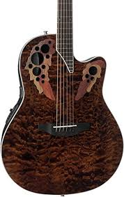 Amazon.com: Ovation Celebrity Elite Plus Quilted Maple Top ... & Ovation Celebrity Elite Plus Quilted Maple Top Acoustic-Electric Guitar,  Tiger Eye Adamdwight.com