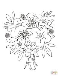 Floral Bouquets Coloring Book For Adults Pdf Epub