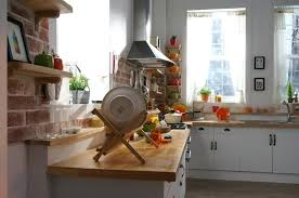 white country kitchen with butcher block. Butcher Block Countertops White Country Kitchen With E