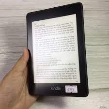 Máy Nhật Cũ] Máy Đọc Sách Kindle Paperwhite Gen 4 10th Code 2886