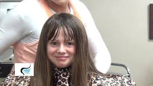 Hairstyles With Blunt Fringe Cut Blunt Bangs Into Long Hairstyles Youtube